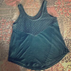 Tops - Blue Lace Top